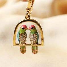 Juicy Couture Kissing Bird Charm