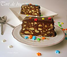Tort de biscuiti Hungarian Cake, Biscuit, Food And Drink, Polish, Desserts, Tailgate Desserts, Vitreous Enamel, Deserts, Postres