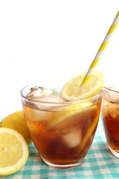 Sweet Lemon Iced Tea - Erren's Kitchen
