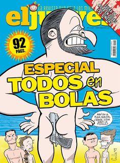 Portada Revista El Jueves nº. 2197 Humor Grafico, Comic Books, Digital, Cover, Facebook, Products, World, Comics, Journals