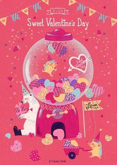 Valentines Illustration, Graphic Illustration, Dm Poster, Promotional Design, Hello Kitty, Illustrations And Posters, Graphic Design Typography, Kawaii, Art For Kids