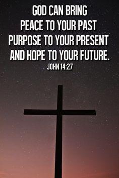 peace, purpose, hope