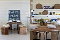 Malibu Farm Cafe-I love their approach to food. Nothing to extreme! The owner owns a pet pig and also proudly enjoys bacon! My kind of place. The are all organic and socially aware without being too hippie dippy. If you find yourself in Malibu you should go enjoy one of their great lunches over looking the ocean… -Haylie Duff