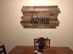 Wonderful 20 Ideas Decorate Walls With Art On Pallets (4)