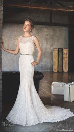 madison james fall 2015 bridal strapless sweetheart neckline lace embroidery trumpet beautiful mermaid wedding dress style mj168