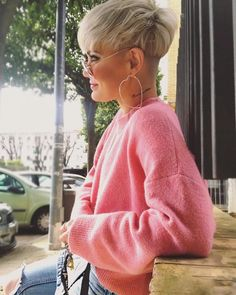 "* Cute Hairstyle Ideas for Long Face - Best Short Haircuts Super Great ""Lass es auffallen, dass. Short Wedge Hairstyles, Pixie Hairstyles, Pixie Haircut, Cute Hairstyles, Hairstyle Ideas, Cute Haircuts, Best Short Haircuts, Short Pixie, Short Hair Cuts"