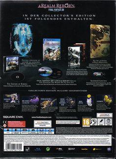 Final Fantasy XIV - A Realm Reborn Collector's Edition - [PlayStation 4]: Amazon.de: Games