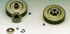 Comparing rim and spur style sprockets