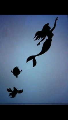 The little Mermaid- Silhouette