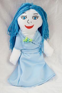 Panenka pro Unicef,moje první ušitá panenka