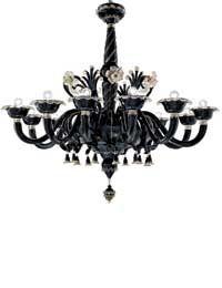 chandelier option....Murano style..Barovier & Toso...4797