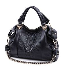 AliUSAExpressNew Arrival 2016 fashion women handbag genuine leather, high quality real leather bags, crocodile pattern bag for casual use | AliUSAExpress