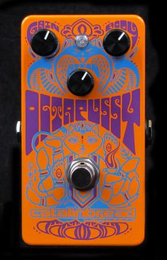 Crazy Effect Pedals from Catalinbread - All their designs are cool. Thanks for showing me J Mckeon.