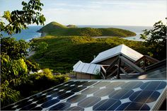 Eco-camping in St. John