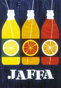 retro Jaffa ad card Jaffa (Finnish orange lemonade/soft drink) ad card by Erik Bruun Old Poster, Poster Ads, Poster Prints, Advertising Poster, Advertising Campaign, Pub Vintage, Vintage Labels, Vintage Posters, Vintage Graphic