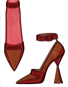 STEVE GOSS FALL 2013 SHOE COLLECTION--SUEDE AND COPPER METALLIC SNAKE