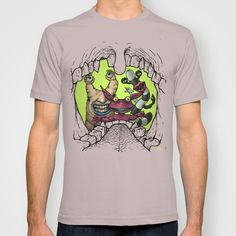 Aaah, Real Monsters T-shirt by Ramon Villalobos
