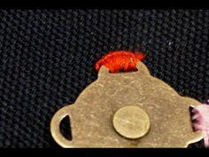 清秀佳人布坊 - 手作教學 - 縫磁釦與裙勾的方法 - 基本縫紉小技巧系列四 - YouTube