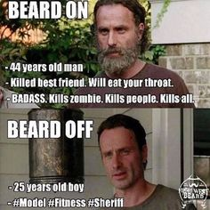Funny love memes hilarious walking dead Ideas for 2019 Twd Memes, Memes Humor, Man Humor, Funny Memes, Hilarious, Funny Quotes, Beard Humor, Fandom Memes, Walking Dead Funny Meme