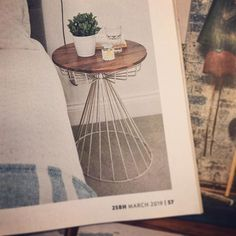 Our white birdcage wine table in this months We now do this table in gold and copper too 25 Beautiful Homes, Interior Styling, Interior Design, Wine Table, Wholesale Furniture, Bird Cage, Home Accessories, Copper, Interiors