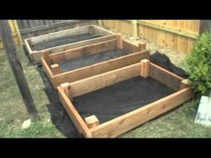 Build your own Raised Flower Beds