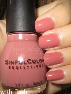 "Nudey-Pink by Sinful Colors in the shade ""Vacation Time"""