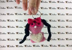 Mini keychain, Chubbee Doll, Kawaii, Plush Stuffed Creature, Handmade by LondonsKingdom on Etsy
