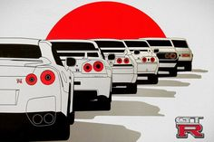 Nice Nissan GT-R 2017 GTR New Car Poster...  Cars