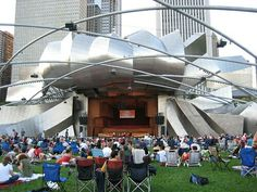 Week 5: At Millenium Park density varies on a variety of occasions. Usually there are concerts, movie showings, and  group gatherings in this space. A space such as this creates a need for relaxation for many needs such as enjoyment and relaxation.