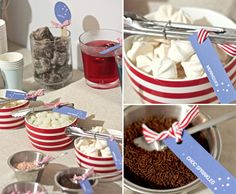 sec banq....ice cream sundae bar w/ brownies & homemade pies???