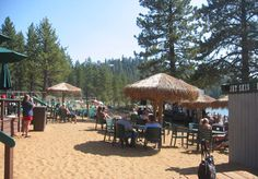 South Lake Tahoe Events - Live Music on the Beach at Zephyr Cove Resort