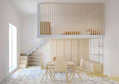 View full picture gallery of La Casa Al Mare. Room Design Bedroom, Small Room Bedroom, Small Rooms, Small Apartments, Small Spaces, Bedroom Decor, Small Room Design, Kids Room Design, Home Room Design