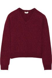Saint LaurentWool and cashmere-blend sweater