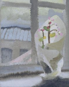 winifred nicholson-- packaged flowers by bridge-- love the use of all the whites
