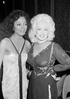 Diana Ross & Dolly Parton!