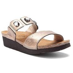 bb2895aa9499 Naot Women s Michele Sandal-The Naot Michele is a fashionable slide with  gore at the