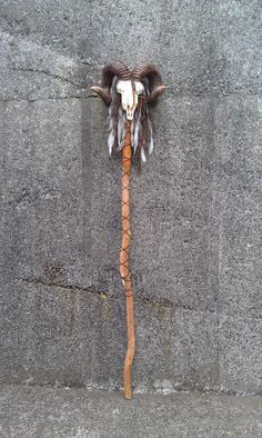 Voodoo Tribal Staff Walking Stick