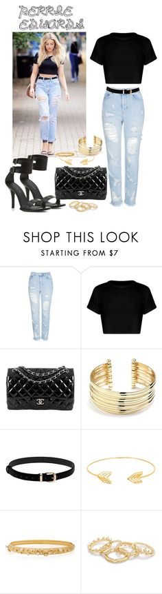 """My idol PERRIE EDWARDS"" by perriemaynard on Polyvore featuring Topshop, Chanel, Belk Silverworks, Lord & Taylor, Hueb and KG Kurt Geiger"