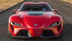 Toyota has revealed stunning Toyota FT-1 concept car at the North American International Auto Show.