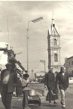 شارع اسكندر عوض يافا، فلسطين ١٩٤٤  Iskandar Awad Street Jaffa, Palestine 1944  Calle Iskandar Awad Jaffa, Palestina 1944