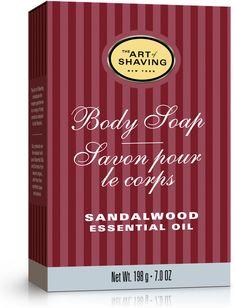 The Art of Shaving Sandalwood Body Soap, 7 oz. on shopstyle.com