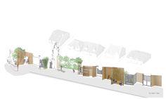 Mur - Rue | Pavillonnaire Le seuil de séparation devient un espace de partage et de rencontre - utilisé et pratique