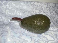 Ceramic Progressive  3 Piece Avocado Shaped Guacamole/Salsa Dip Server…