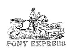 the pony express history coloring pages for kids history coloring sheets pinterest pony social studies and homeschool