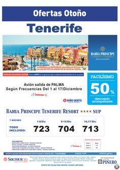 Tenerife 50% Bahía Príncipe Tenerife Resort salidas desde Palma de Mallorca - http://zocotours.com/tenerife-50-bahia-principe-tenerife-resort-salidas-desde-palma-de-mallorca-2/