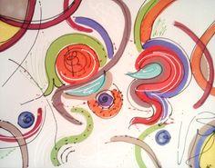 Envie de couleurs 1 / 92 cm x 73 cm