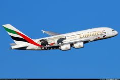 Airbus A380-861 - Emirates | Aviation Photo #4272227 | Airliners.net