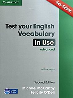 c66fe8c41d Test Your English Vocabulary in Use Advanced with Answers Vocabulário Inglês