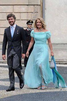 Prince Antonius and Princess Maximiliane Windisch-Graetz (his mommy).