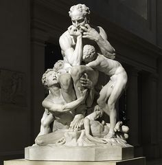 Jean-Baptiste Carpeaux (French, 1827–1875). Ugolino and His Sons, 1865–67. The Metropolitan Museum of Art, New York. Purchase, Josephine Bay Paul and C. Michael Paul Foundation Inc. Gift, Charles Ulrick and Josephine Bay Foundation Inc. Gift, and Fletcher Fund, 1967 (67.250) | Carpeaux's visionary statue reflects his passionate reverence for Michelangelo, as well as his own painstaking concern with anatomical realism. Watch videos and listen to an audio clip about this work. #MetViewpoints